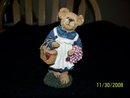 BOYDS BEARSTONE COLLECTION TEDDY BEAR'S PICNIC
