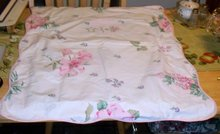 OVER SIZED FLORAL DESIGNED PILLOW CASE
