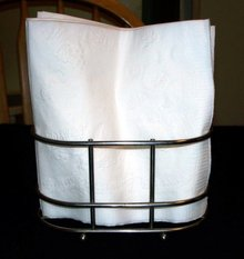 METAL BASKET FOR NAPKINS, TOWELS, CONDIMENTS ETC.