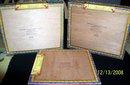 THREE PARTAGAS #1 EMPTY CIGAR BOXES
