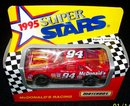 MATCHBOX  1995 SUPER STARS McDONALD'S RACING
