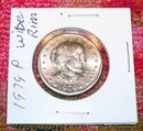 SUSAN B. ANTHONY 1979 P WIDE AND NARROW RIM DOLLARS