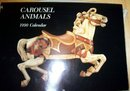 1990 CAROUSEL ANIMALS CALENDAR (FRAMEABLE PICTURES)
