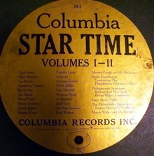 COLUMBIA STAR TIME ST - 1 VOL. 1 -2 RECORD SET