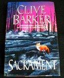 SACRAMENT BY CLIVE BARKER 1ST ED./1ST PRINT
