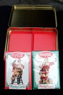COCA- COLA SANTA CLAUS PLAYING CARD SET