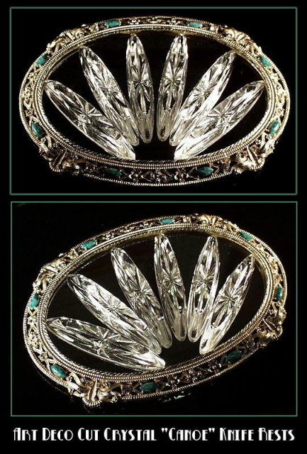 ART DECO CRYSTAL