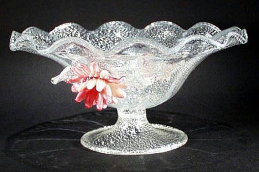 VENETIAN GLASS COMPOTE - A.VE.M.
