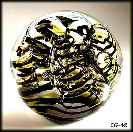 GORGEOUS CZECH SIGNED KRCIL PAPERWEIGHT