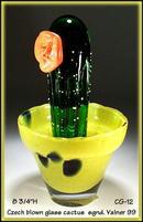 SIGNED CZECH DESIGNER STUDIO GLASS