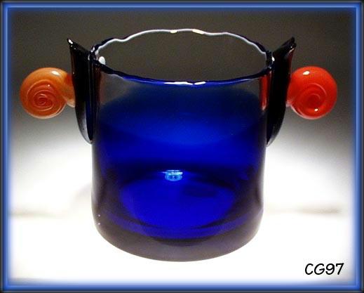 SIGNED CZECH ART GLASS