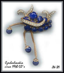 FANTASTIC CZECH (DIOR) BROOCH