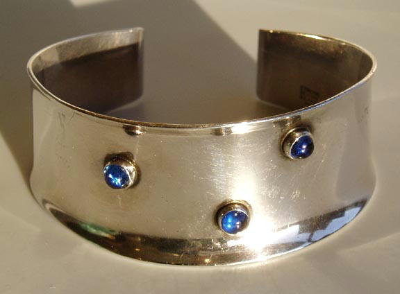 N E FROM DANISH STERLING ART MODERNE BRACELET