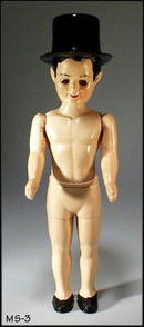 HARD PLASTIC MALE CHARACTER DOLL BY