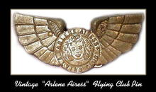 ARLENE AIRESS PREMIUM CAST METAL PIN / MS031