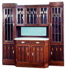 VIENNESE SECESSION / ARTS AND CRAFTS CABINET
