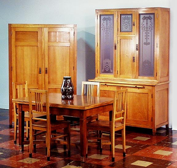 VIENNESE SECESSION ARTS & CRAFTS 6pc  DINNING