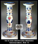 OVERLAY CUT TO BLUE 2 CANDLESTICKS
