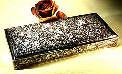 19th CENTURY RUSSIAN SILVER BOX SL016