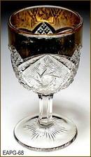 DOUBLE PINWHEEL CORDIAL INDIANA GL 1915 EAPG 068
