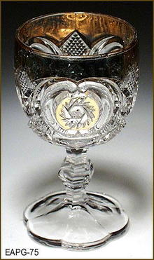US VICTORIA CORDIAL US GLASS 1907 EAPG 075