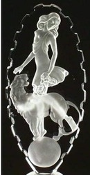 LAPIS GLASS DISROBED GIRL & LEOPARD PERFUME BTL