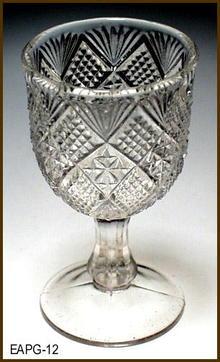 SET OF 4 PEERLESS CORDIAL FLINT 1893 EAPG 012