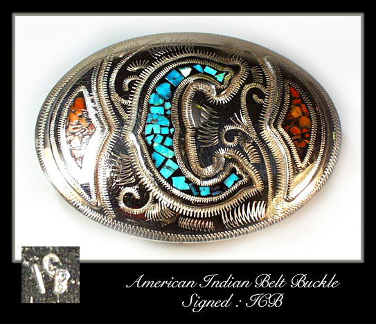 VINTAGE AMERICAN INDIAN SILVER