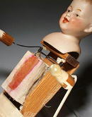 HEUBACH 6736 MECHANICAL / MUSICAL DOLL MS-6