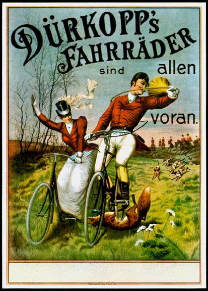 BICYCLE ADVERTISEMENT POSTER