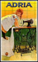 SEWING MACHINE ADVERTISEMENT POSTER