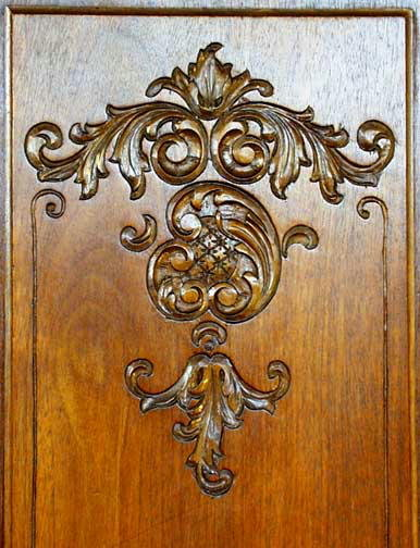 RENAISSANCE REVIVAL WALNUT ARMOIRE c.1900