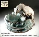 POLAR BEAR Pottery Ditmar Urbach c. 1930's 5D