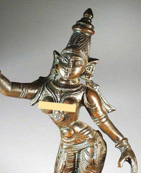 SRI DEVI LATE VIJAYANAGAR INDIAN BRONZE