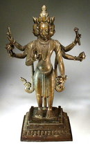 VISHNU OR BRAHMA - NEPAL 17-18th Cent.