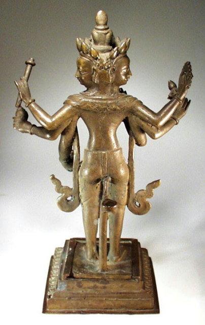 VISHNU OR BRAHMA - NEPAL 17-18th Cent.