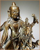 VISHNU & LAXMI - NEPAL 18 -19th Cent.