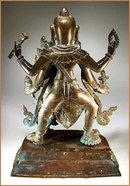 VISHNU & LAXMI - NEPAL 18 -19th Cent.