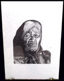 ORIGINAL SIGNED LITHO/ETCHING NATIVE MAORI 10A
