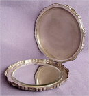 VIENNESE ART DECO SILVER COMPACT #69