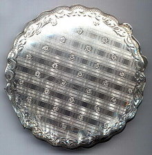 VIENNESE ART DECO SILVER COMPACT #70
