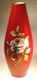 GOEBEL HAND PAINTED PORCELAIN VASE