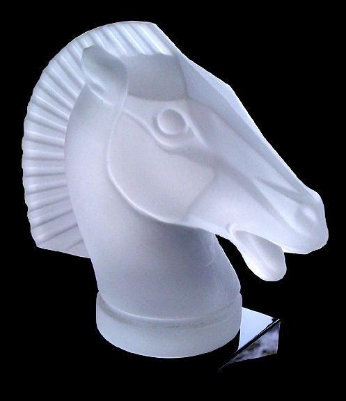 HORSE CAR MASCOT HOOD ORNAMENT