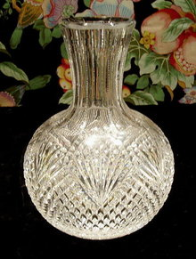 CUT GLASS CARAFE AMERICAN BRILLIANT PERIOD #56