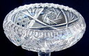 CUT GLASS COMPOTE AMERICAN BRILLIANT PERIOD #62