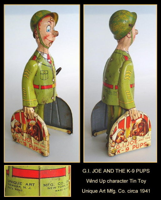JI JOE WIND UP CHARACTER TOY UNIQUE C. 1941