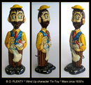 MARX 1930's BO PLENTY WIND UP CHARACTER TOY