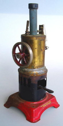 GERMAN FLEISCHMANN STEAM ENGINE TOY c.1930's