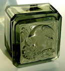 SIGNED CZECH ART DECO MERCURY POWDER BOX OPB-51
