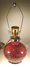WMF IKORA ART GLASS LAMP GERMANY c.1930's